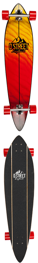 D Street Dune Pintail Complete Longboard
