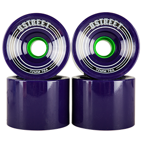 D Street Fly Wheels in purple are part of D Street's range of skateboard accessories and skateboard parts