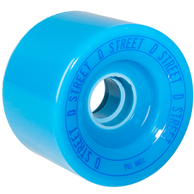 D Street Relay Wheels in blue are part of D Street's range of skateboard accessories and skateboard parts