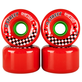 D Street Shifters wheels are part of D Street's range of skateboard accessories and skateboard parts