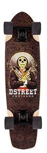 D Street mexico Series Bandito skateboard cruiser graphic