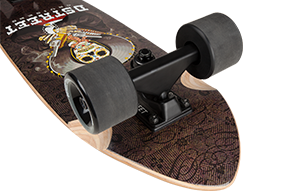 D Street mexico Series Bandito skateboard cruiser trucks and wheels