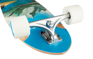 D Street Journey Freedom pintail longboard Road Rider longboard trucks