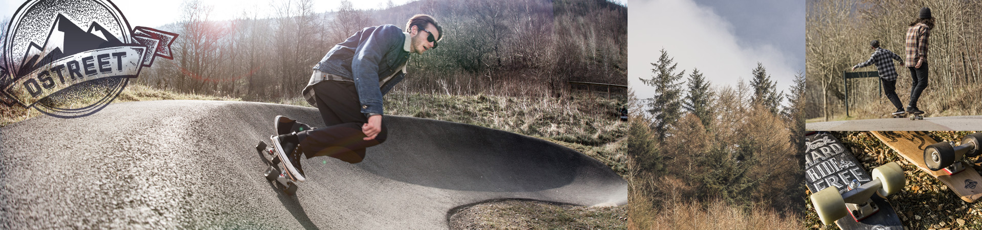 D Street Wooden Skateboard Cruisers - available to buy all over Europe now
